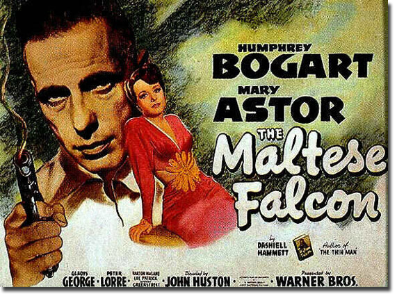 maltese falcon movie poster