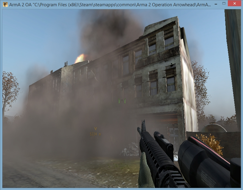 Building Blowing Up : Arma how to blow up buildings