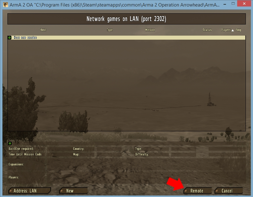ArmA 2 VPN Setup