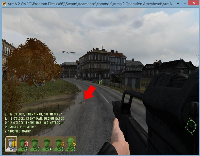 ArmA 2 | Detonate on Trigger: IED