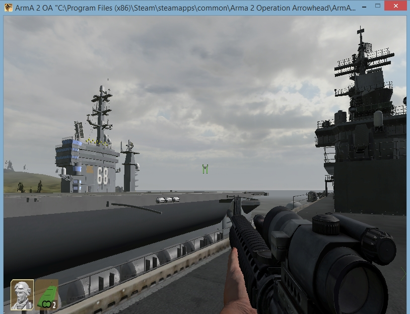 arma 2 lhd aircraft carrier setup