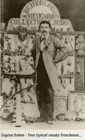 Archeologist Eugene Boban